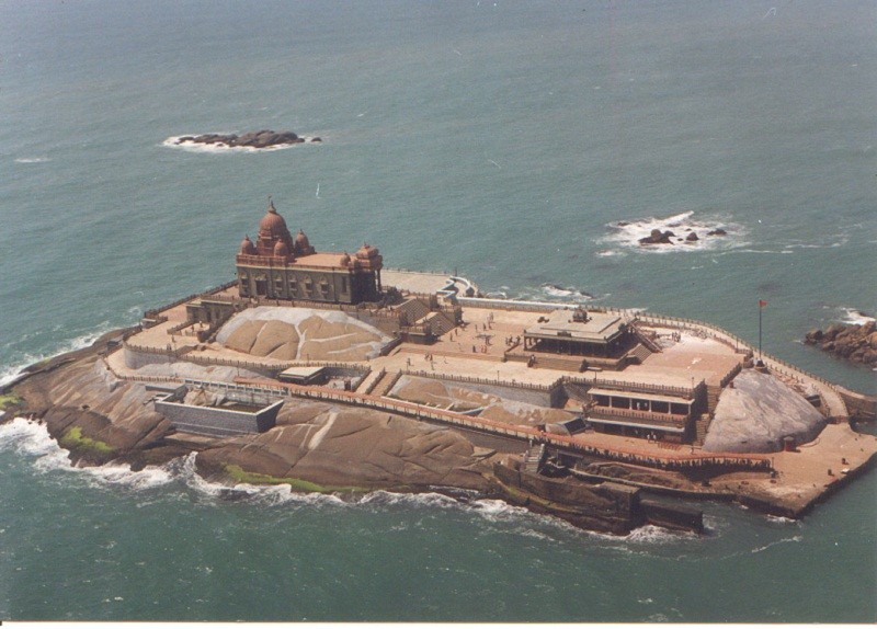vivekananda-rock-in-kanyakumari-sea,Kerala tour packages, Kerala honeymoon packages, Holiday packages in Kerala